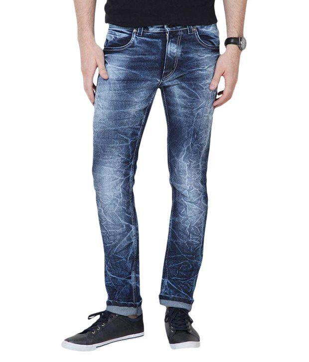 Super-X Blue Slim Fit Jeans