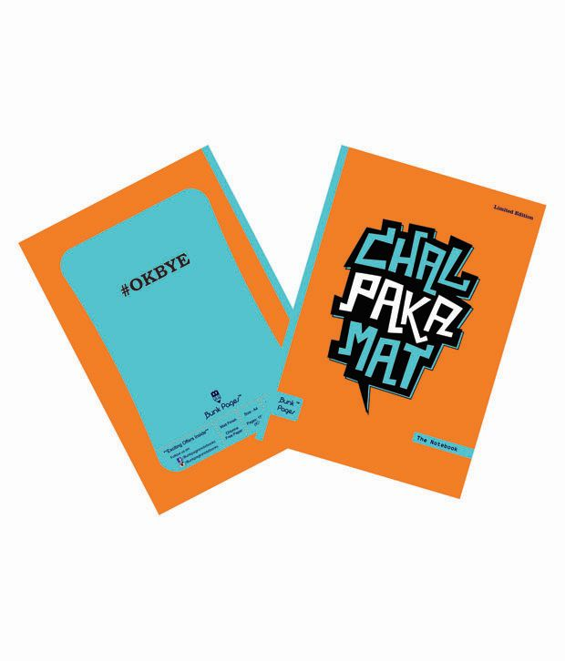 Bunk Pages Multicolor A4 Ruled Notebook Pack Of 22 Buy Online At