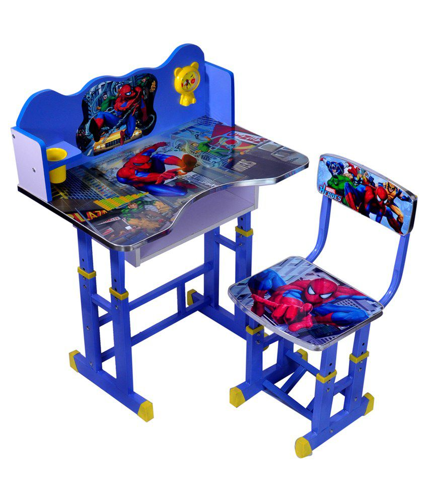 Wood wizard spiderman kids study table set buy wood for Best time of year to purchase furniture