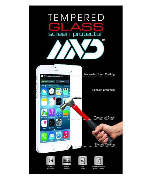 Mvd Tempered Glass Screen Guard For Samsung Galaxy 7262