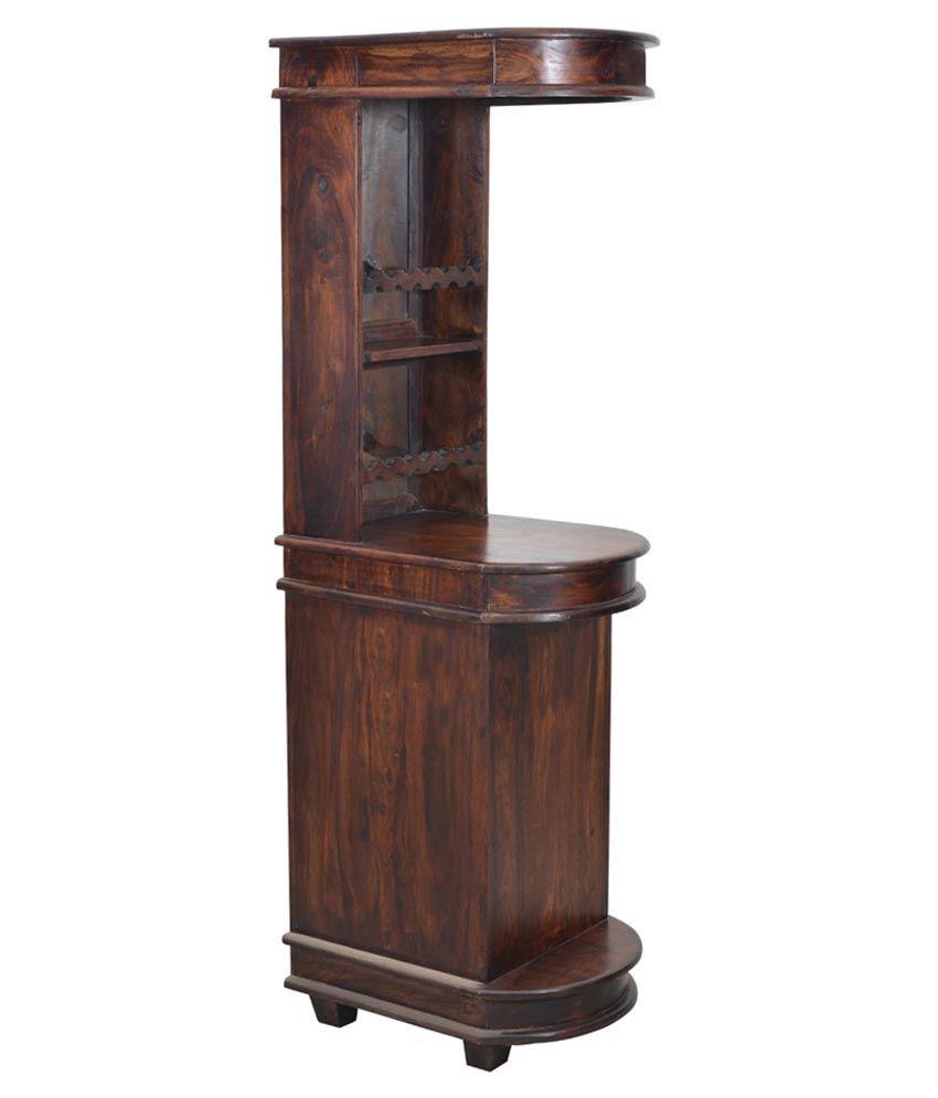shekhawati solid wood bar cabinet buy shekhawati solid wood bar rh snapdeal com