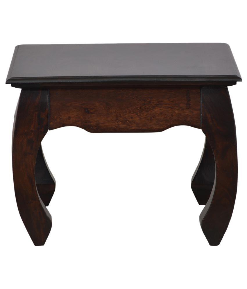Shekhawati Solid Wood End Table