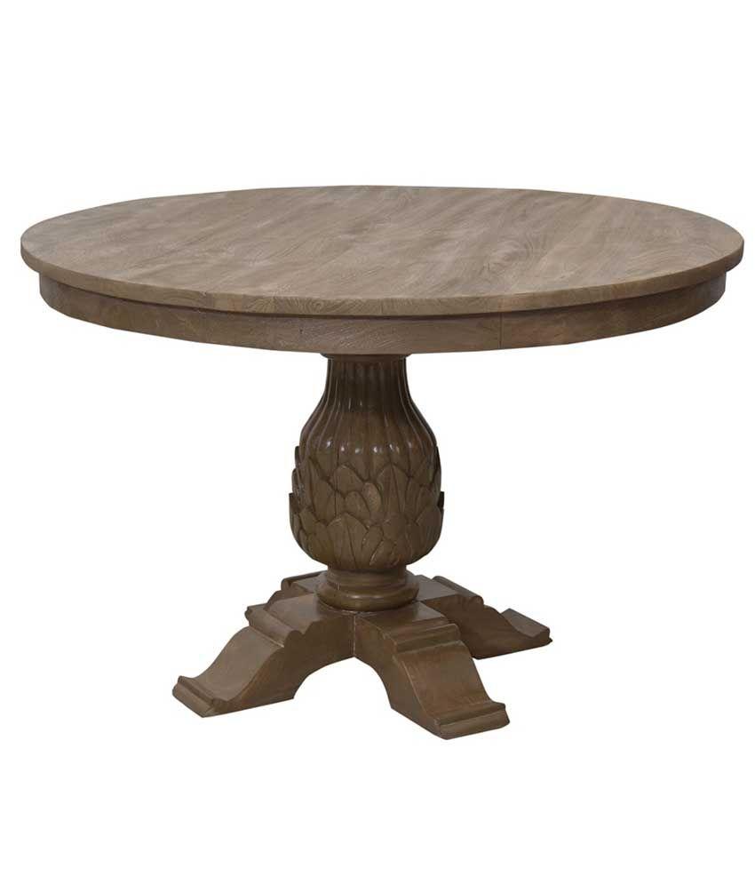 Shekhawati Solid Wood Side Table