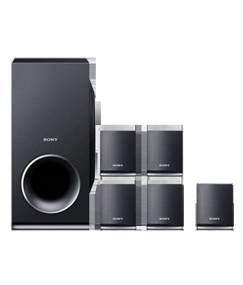 Home Theater Buying Tips: Buy Sony DAV-TZ145 5.1 DVD Home Theatre System Online At