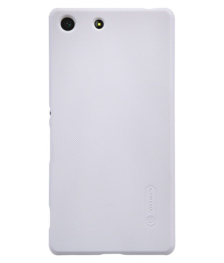 F-eye Back Cover For Sony Xperia M5-white