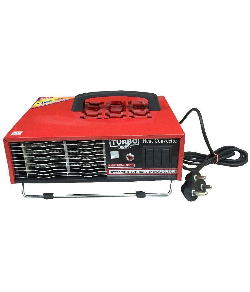 Turbo 4000 2000 Vacbaj_Deluxe Heat Convector Red