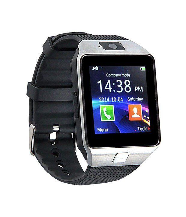 Bingo T30 Silver Bluetooth Smartwatch With Memory Slot ...