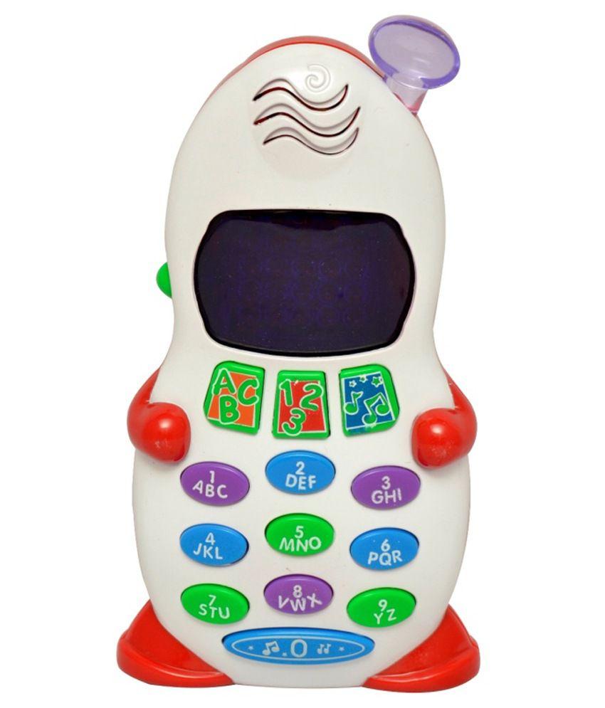 Shishuranjan White Plastic Learning Moblie Toy