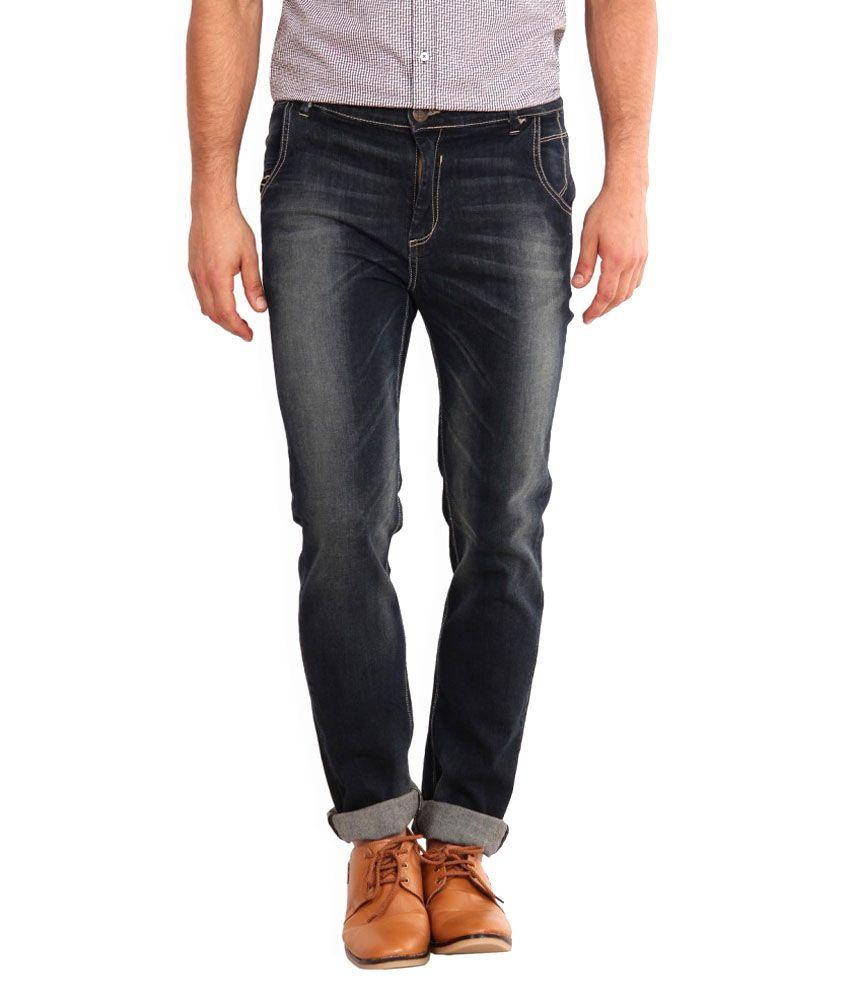 I-voc Black Slim Fit Jeans