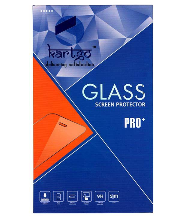 Micromax Canvas Selfie Tempered Glass Screen Guard by KARTGO