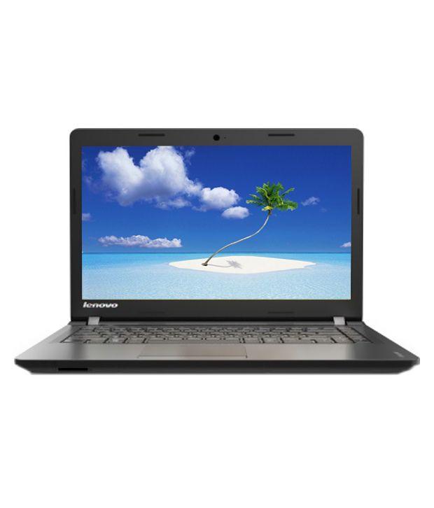 Lenovo Ideapad-100 Notebook (80MJ00A8IN) (Intel Celeron-2 GB RAM- 500 GB HDD- 39.62 cm (15.6)- DOS) (Black)