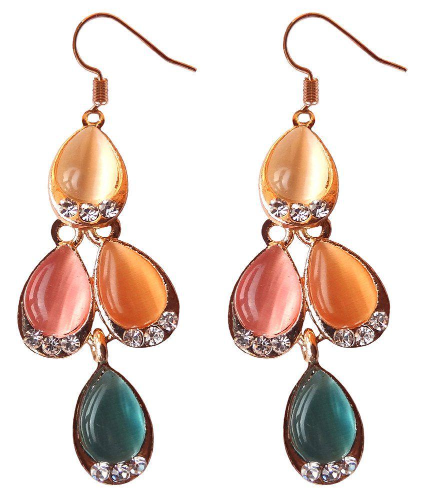 Shreya Collection Multicolour Alloy Drops