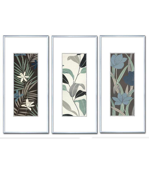 Elegant Arts & Frames Contemporary Framed Art Prints - Set Of 3