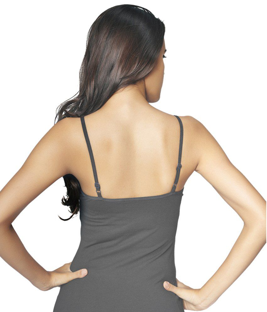 Restless Gray Stretchable Singlet