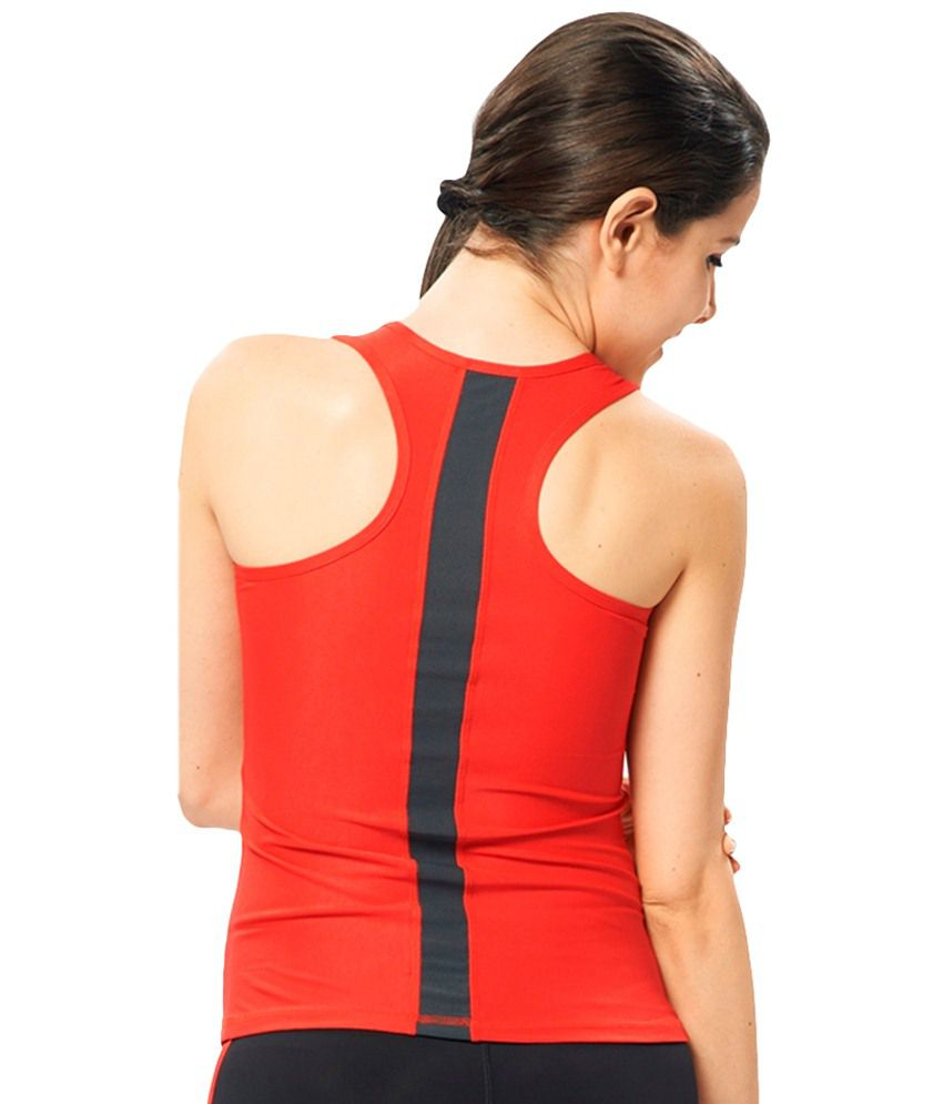 Restless Red Stretchable Singlet