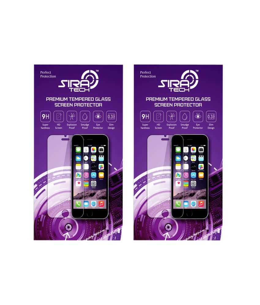 Gionee Pioneer P2S (Set of 2) Tempered Glass Screen Guard by Siratech