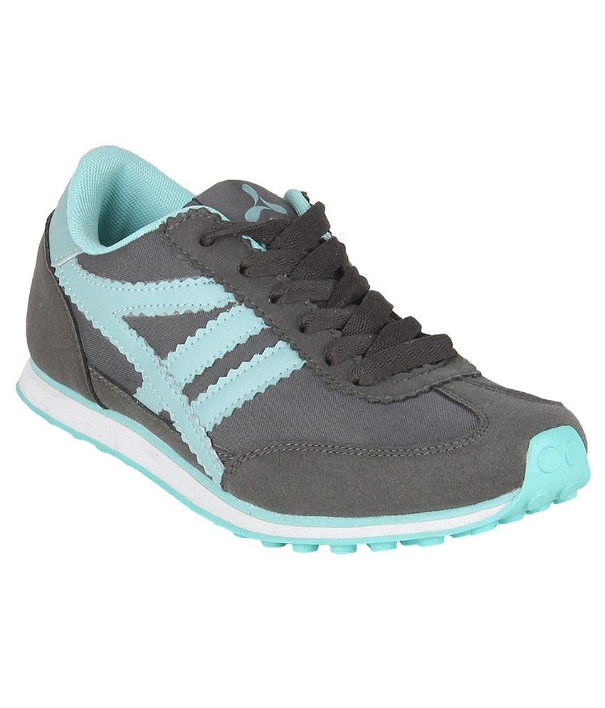 spinn gray blue sport shoes price in india buy spinn