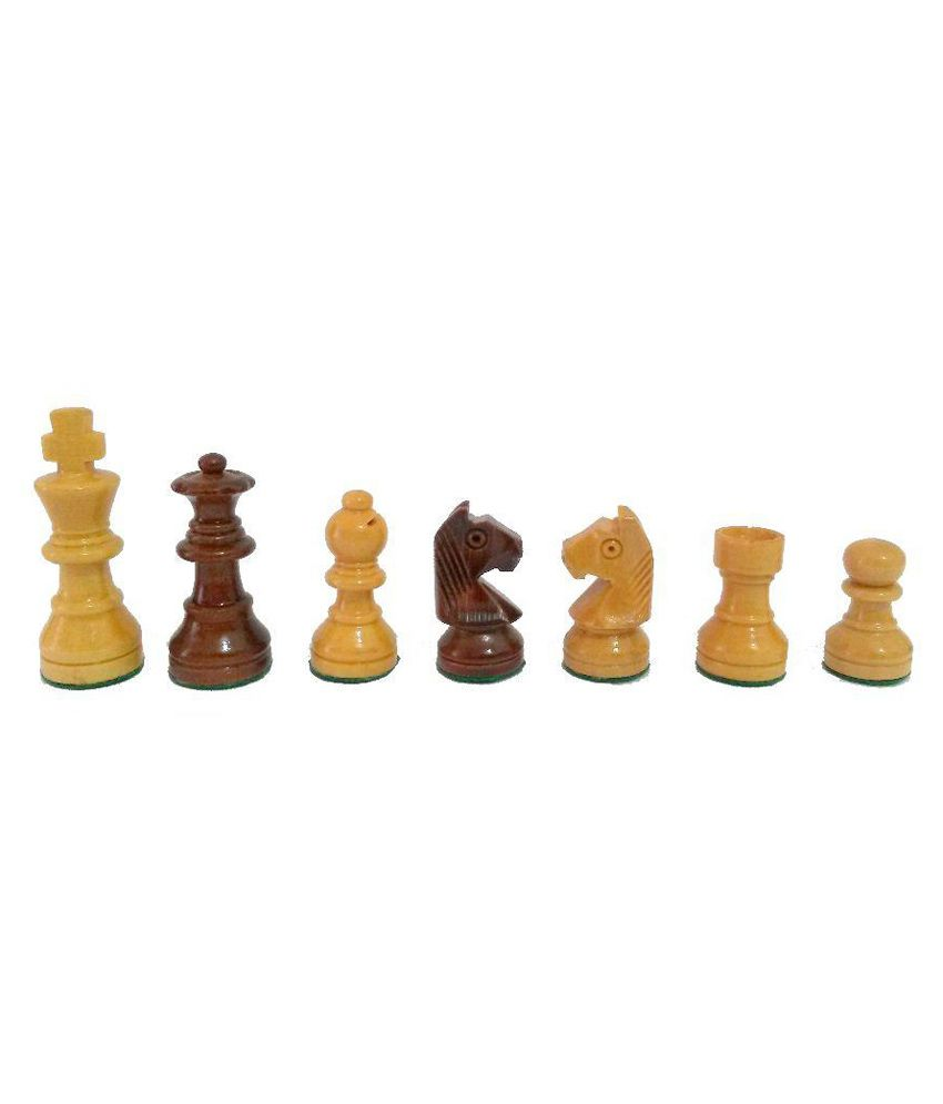 Aristo Brown and Beige Magnetic Chess Board Set
