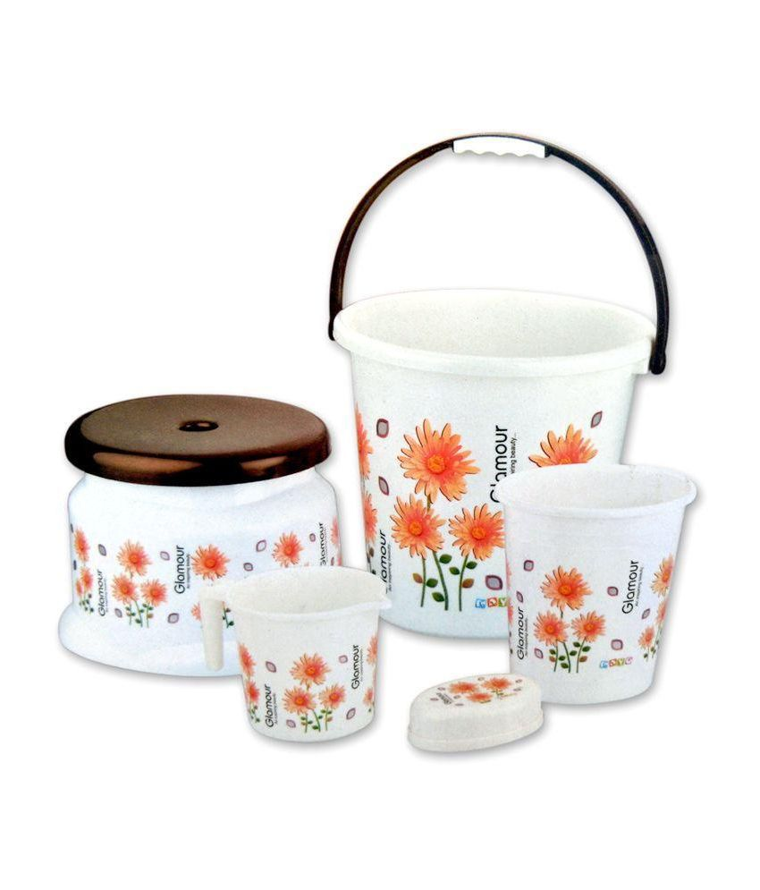 Buy Mayo Glamour Bathroom Set Online At Low Price In India Snapdeal