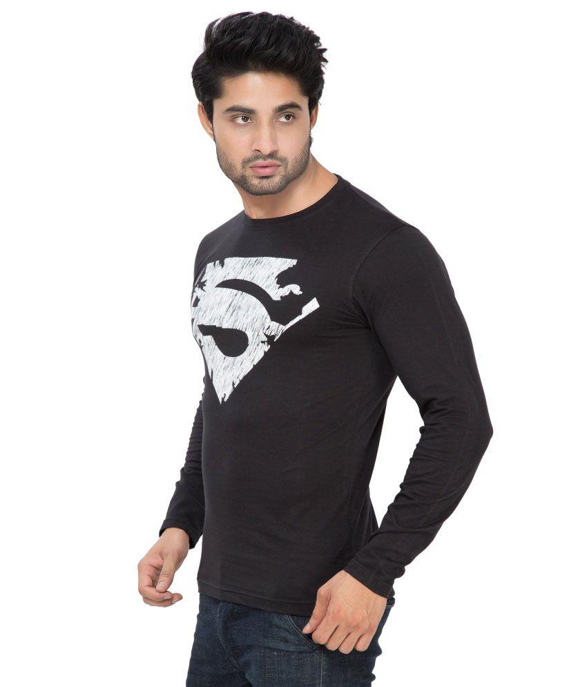 Black t shirt low price -  Alan Jones Clothing Black Cotton T Shirt