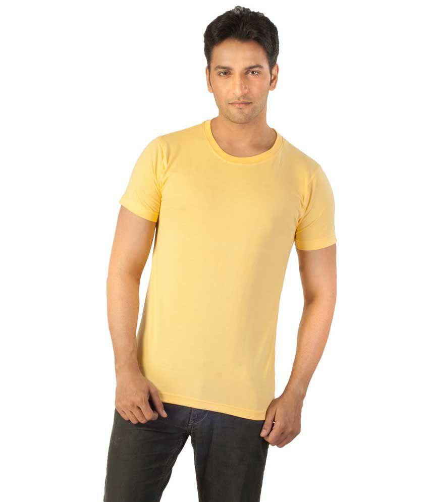 Voce Round Neck Black Tshirt For Men