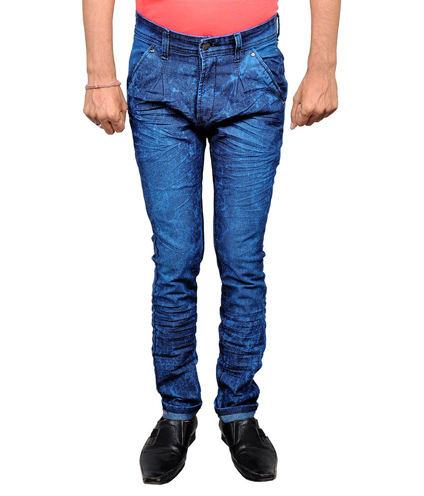 Halfdeal Blue Slim Fit Jeans
