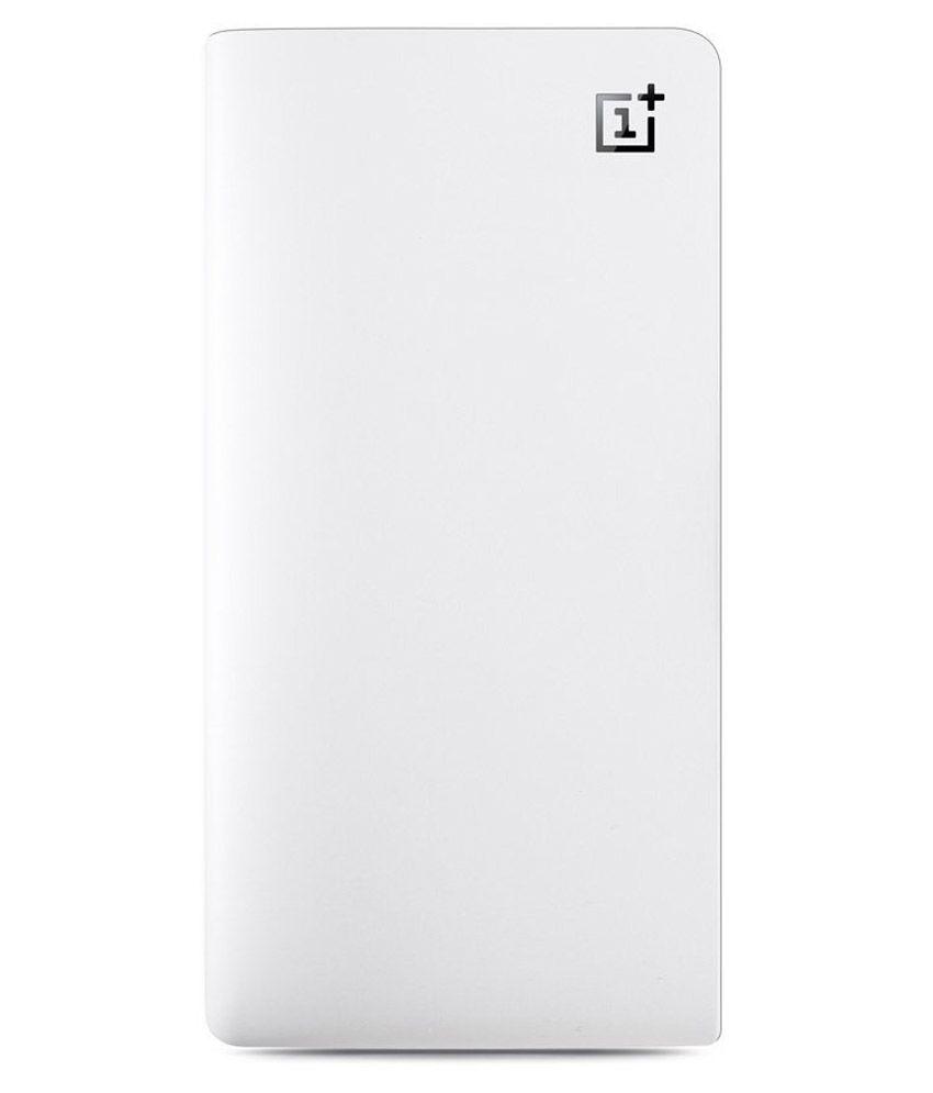 OnePlus 10000mAh Power Bank - Silk White