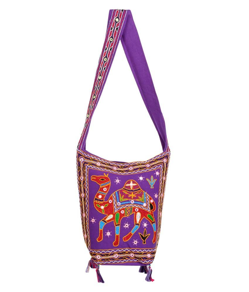 Rajrang Purple Jhola