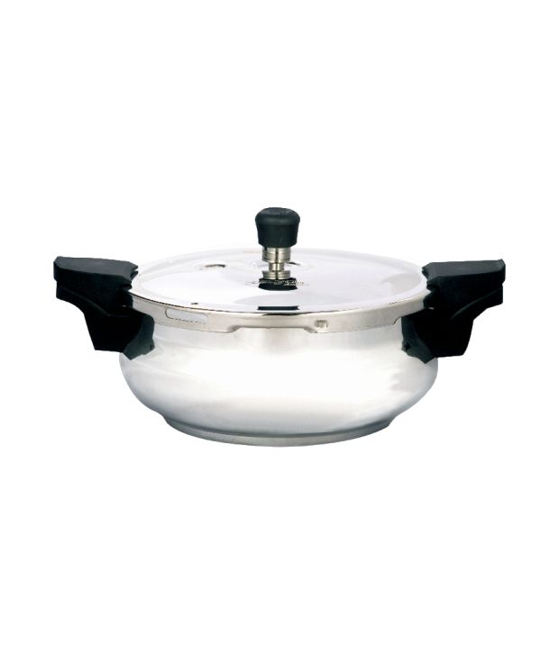 Surya Accent Silver Aluminium Pressure Cooker  available at snapdeal for Rs.1460
