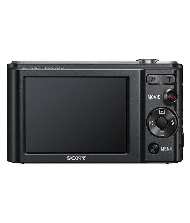 Sony Cybershot W810 20.1MP Digital Camera Price in India- Buy Sony ...