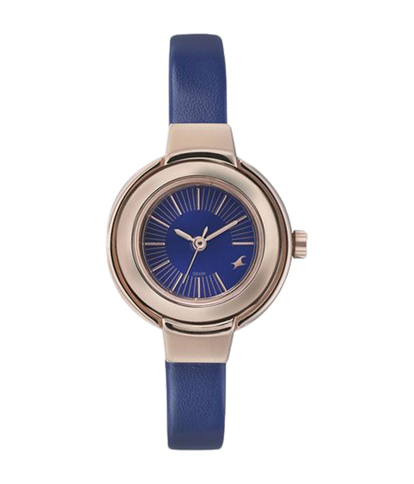 Fastrack Blue Dial Analog Women's Watch