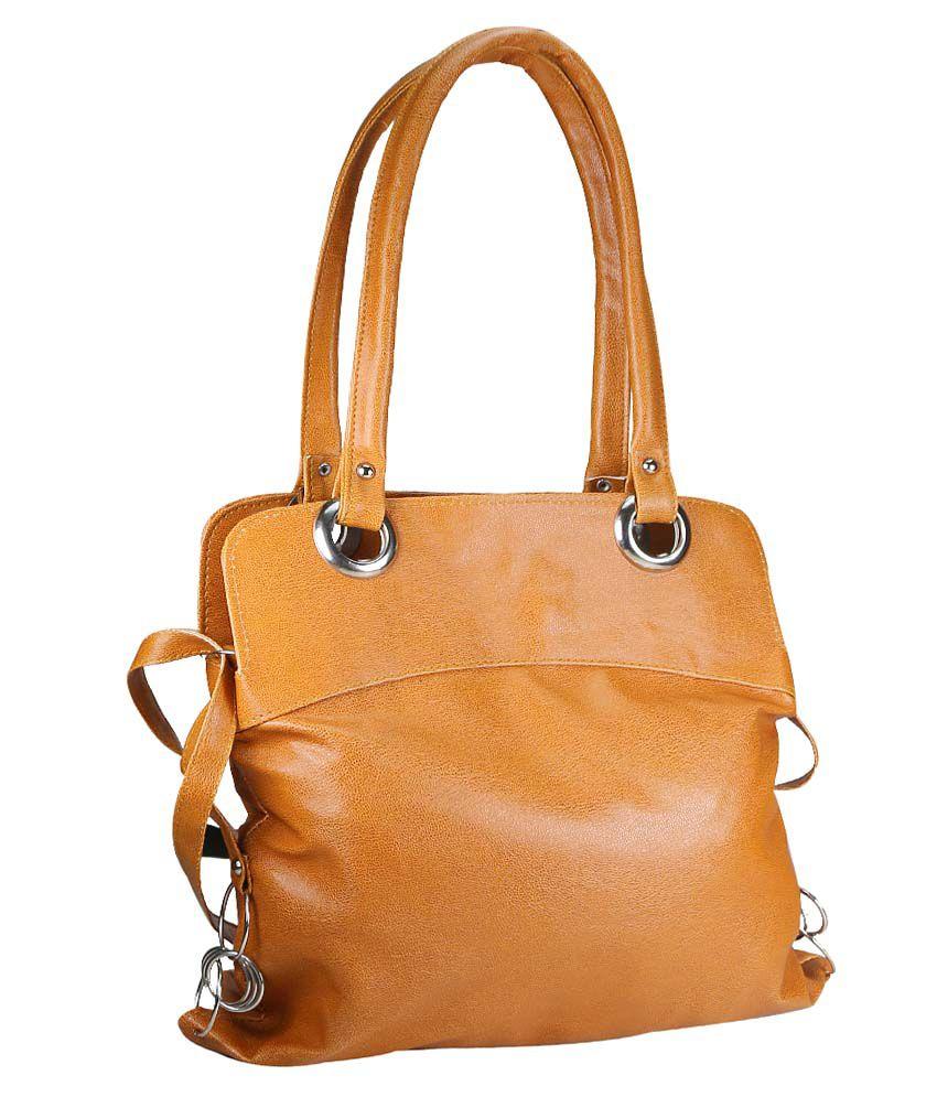 Klazo Brown Non Leather Shoulder Bags