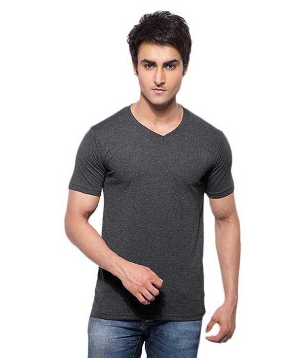 Aja Black Cotton T-shirt