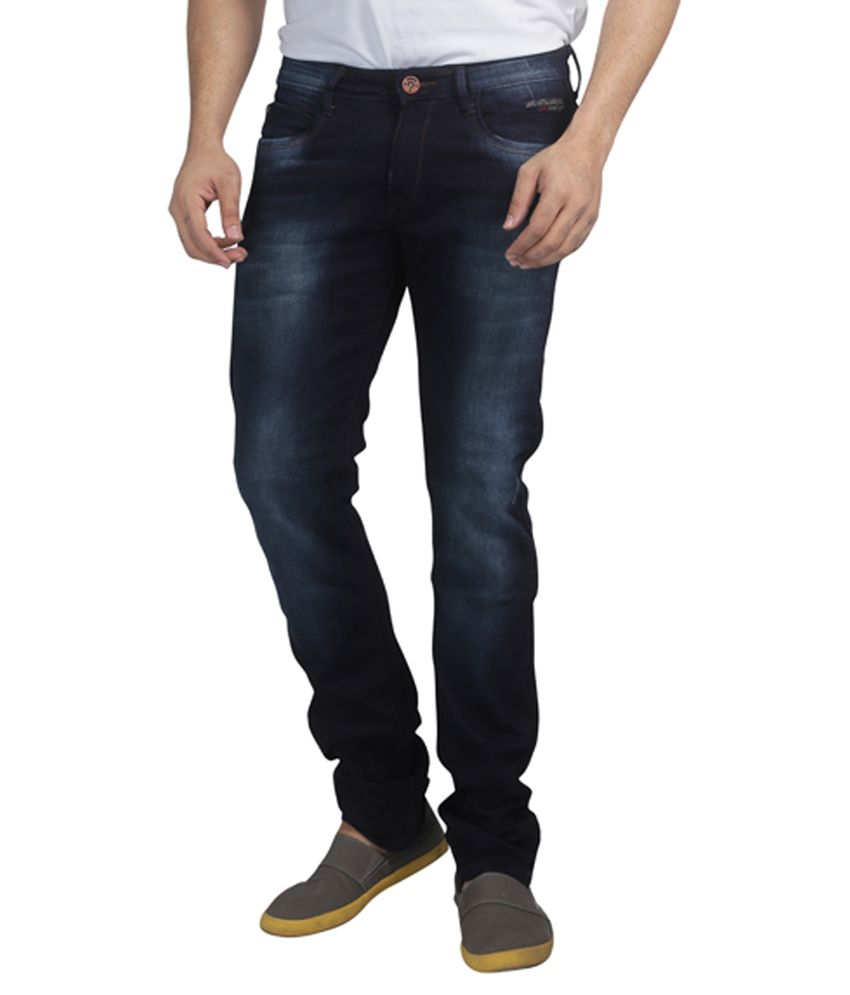 Nostrum Jeans Blue Slim Fit Jeans