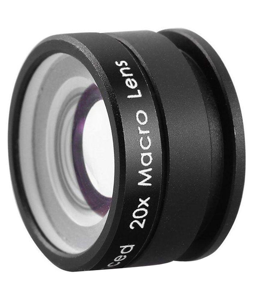 Mobilegear 20x HD Advance Macro Mobile Camera Lens With Universal Clip - Black