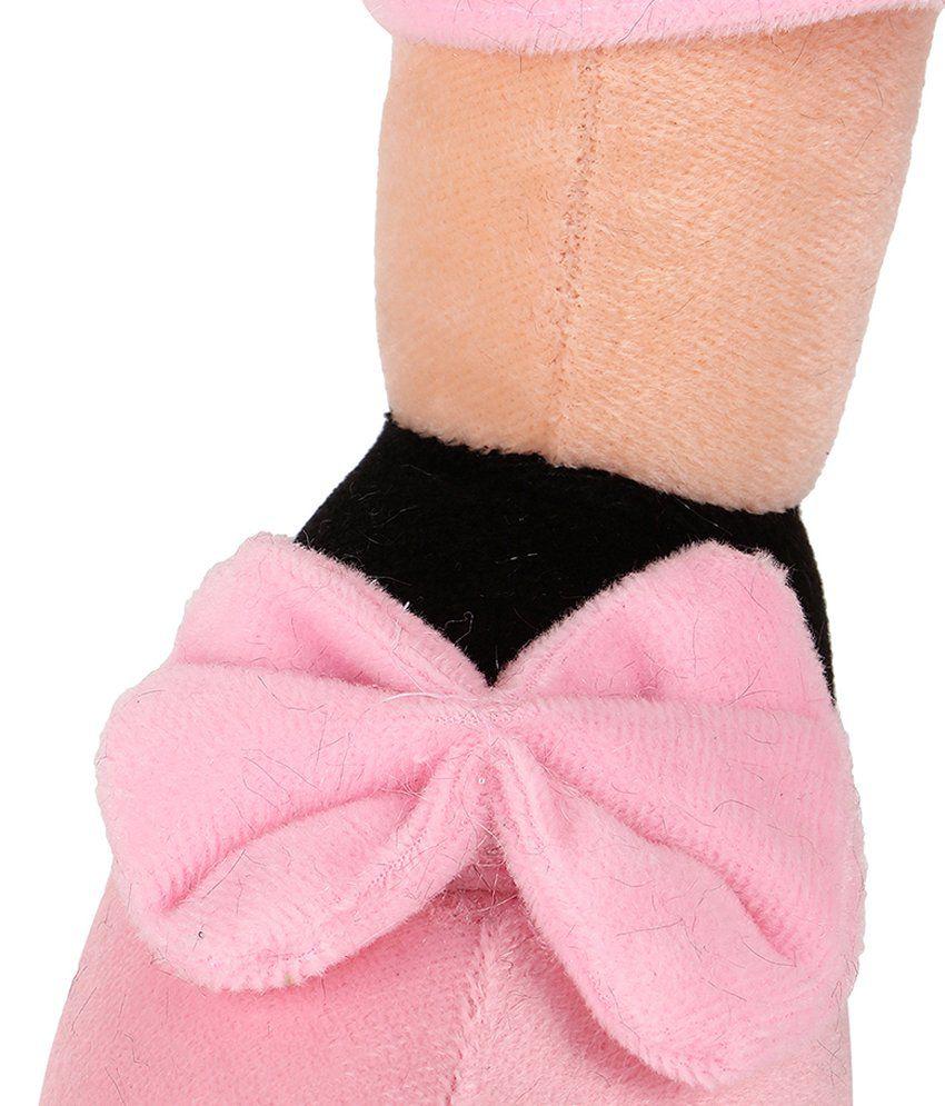 Agastya Pink And Beige Minnie Mouse Teddy Bear Buy Wrist