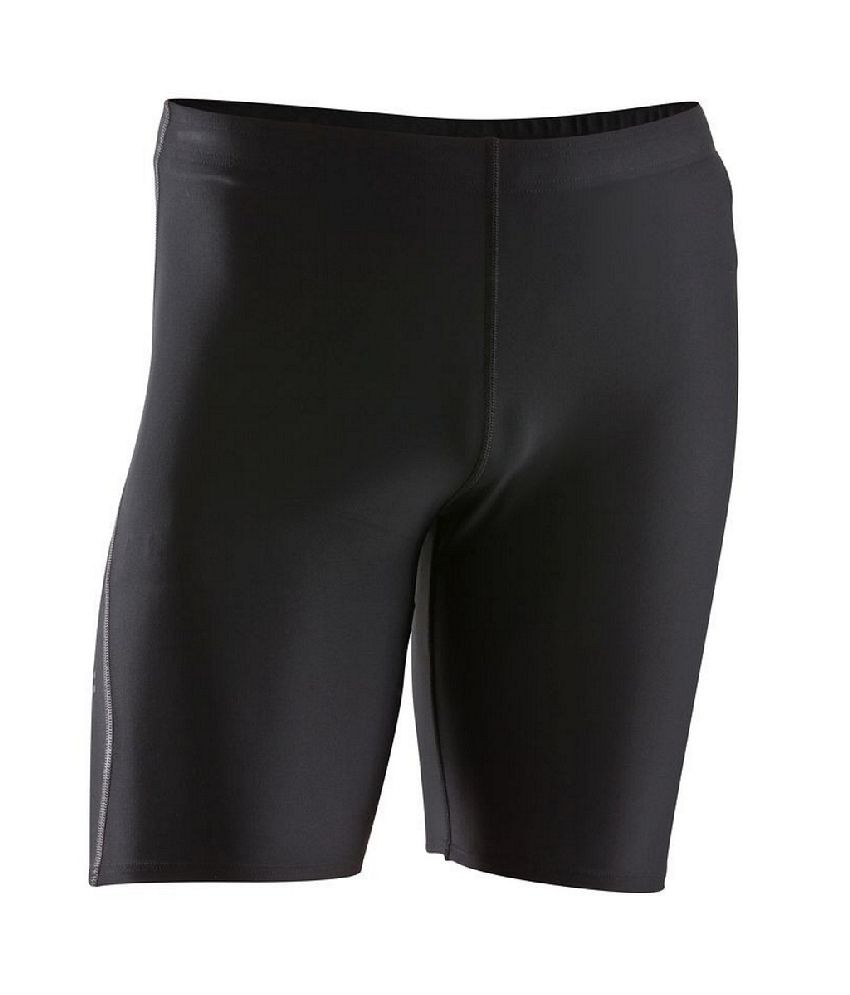 Kalenji Essential Men Running Tights Black
