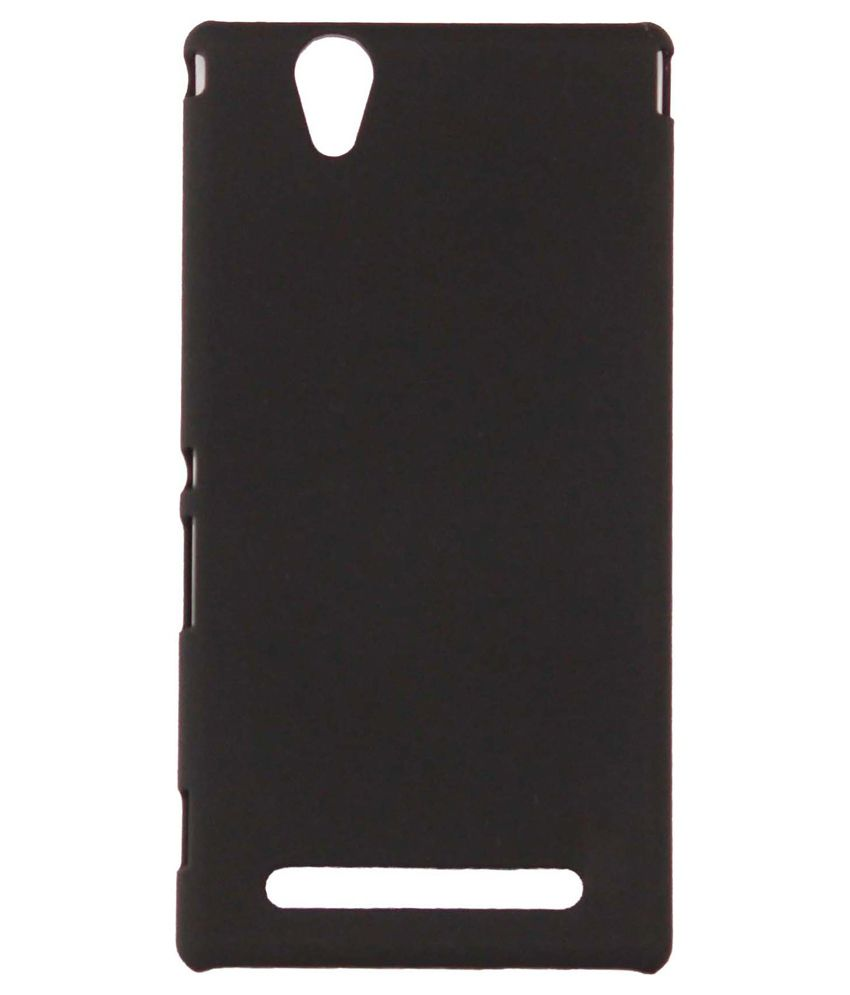 Backer The Brand Back Cover For Sony Xperia M4 - Black