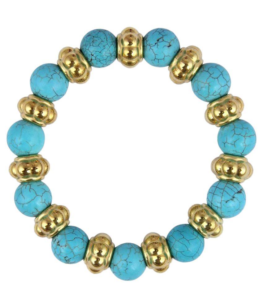Pearlz Ocean Multicolour Stretchable Bracelet