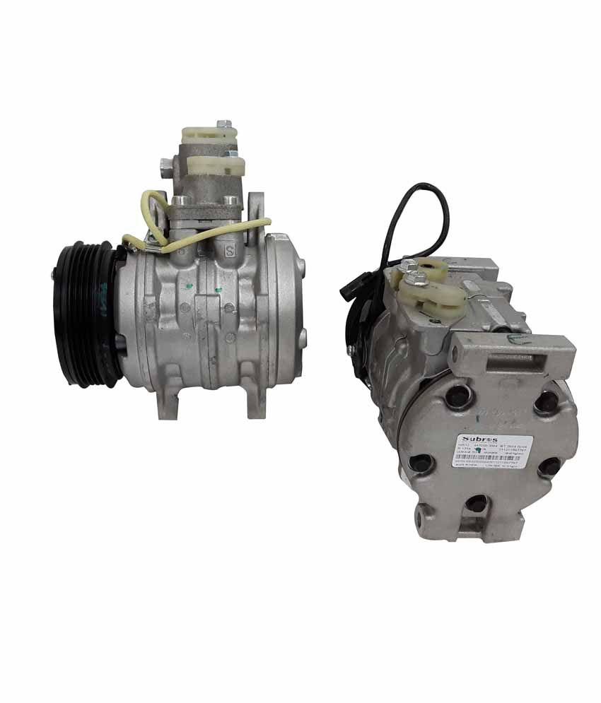 subros silver ac compressor for baleno zen buy subros silver ac rh snapdeal com