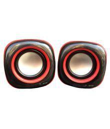 Black Cat Gs555 Portable Speakers - Red