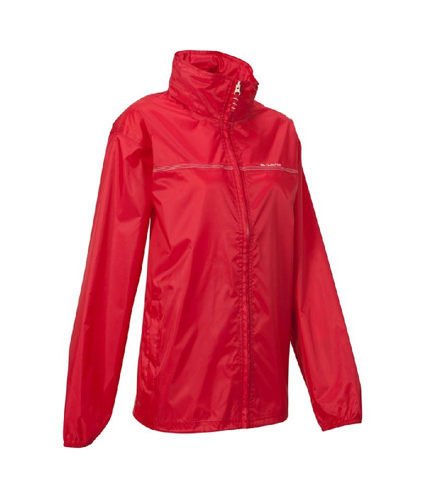 Quechua Rain-cut Zip Women Hiking Rain Jacket