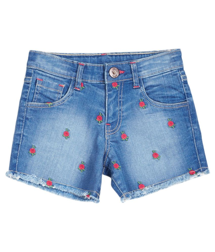 612 League Blue Shorts