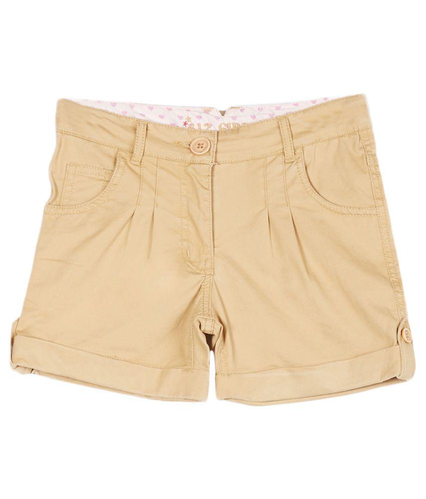 612 League Khakhi Shorts