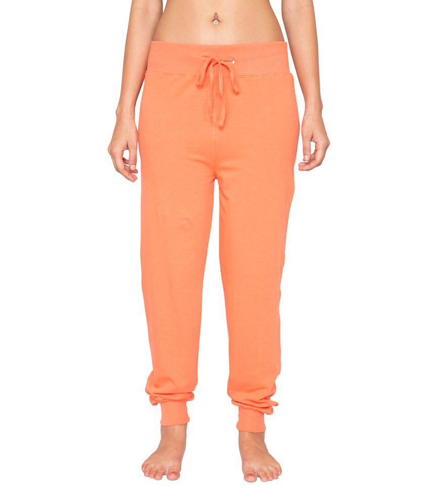 Foreveryoga Orange Jogger Pant - Orange