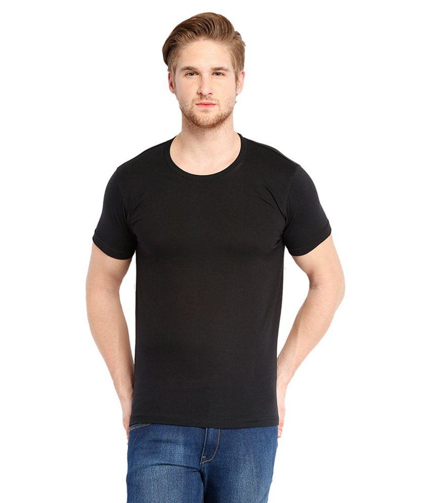 MG Black Cotton T-shirt