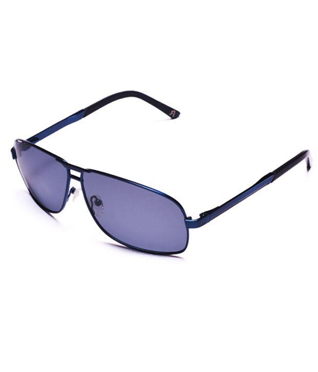 Derry Gray Medium Unisex Rectangle Sunglasses
