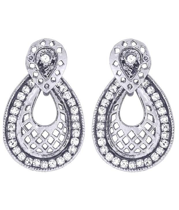 Kshitij Jewels Style Diva Alloy Hangings