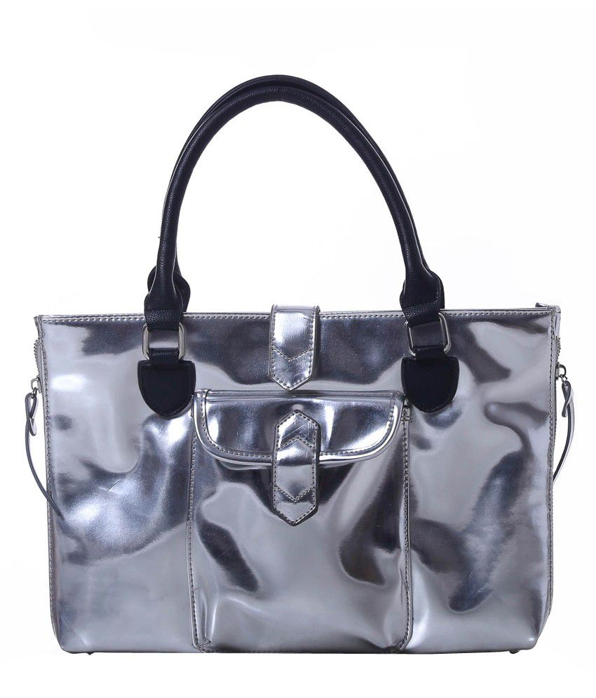 Harp Silver Laptop Bag