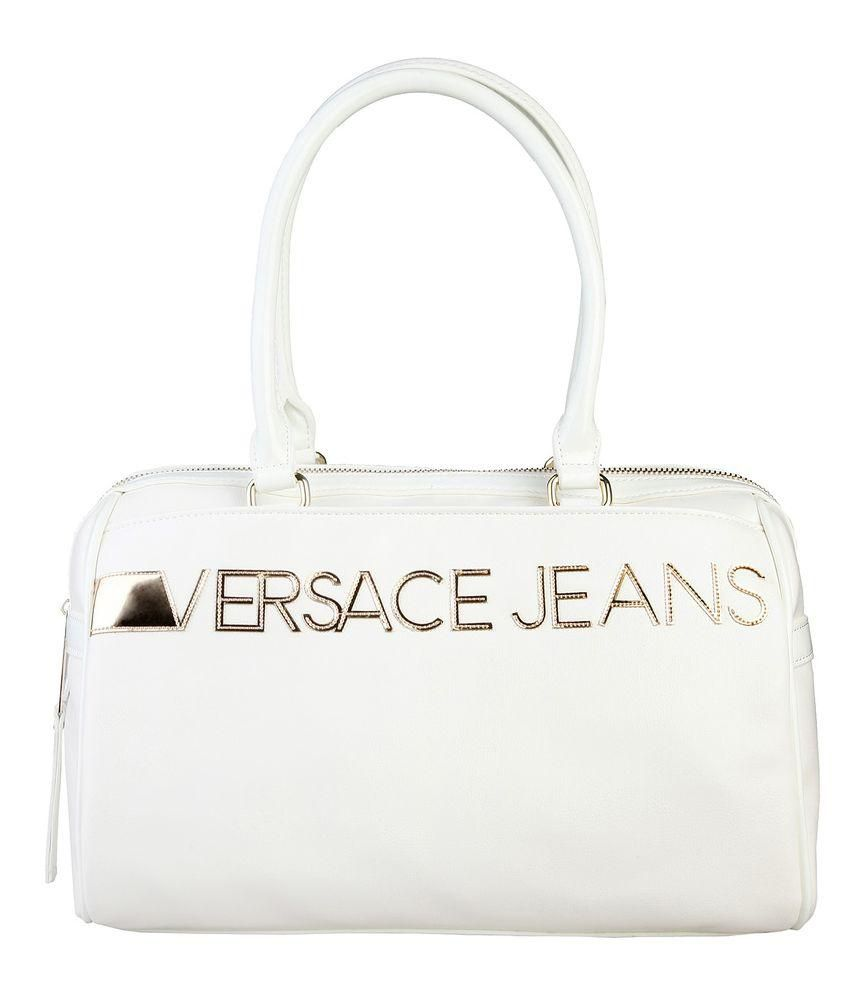 Versace Jeans White Leather Shoulder Bag - Buy Versace Jeans White Leather  Shoulder Bag Online at Best Prices in India on Snapdeal a322cac770b5c